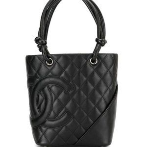 Chanel  Black Caviar Wallet on Chain Flap Timeless